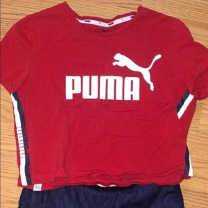 Matching work out Puma set.
